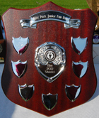 The 2012 Shield is awarded to the school that enters the greatest number of children in the Junior Fun Runs