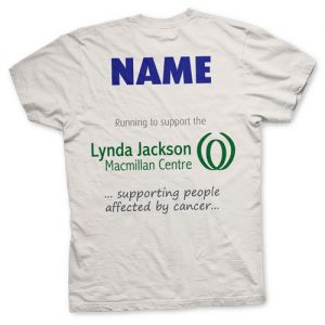 Order your T-shirt in advance and get your name printed on the back to make an even more special souvenir of your day