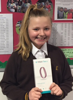 The lucky winner of a Fitbit in the 2016 draw was Emma Medway