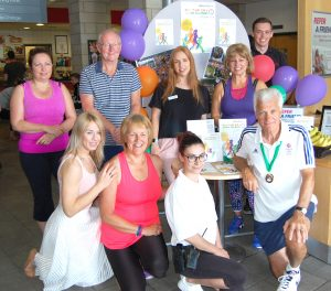 We launched this year's event at Bushey Grove Leisure Centre