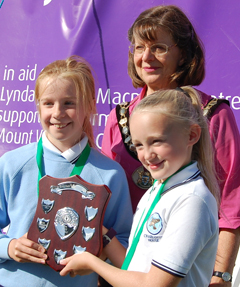 2012 Shield - awarded to the school that enters the most pupils in the Junior Fun Runs